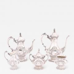 Silver Plate Five Piece Tea Coffee Service - 1966830