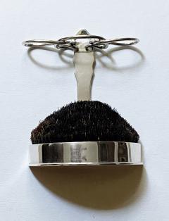 Silver Quill Pen Stand Nib Brush Wipe London 1902 William Comyns - 1979892