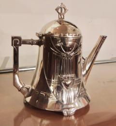Silver Tea Coffee Set WMF Art Nouveau with Tray - 1342777