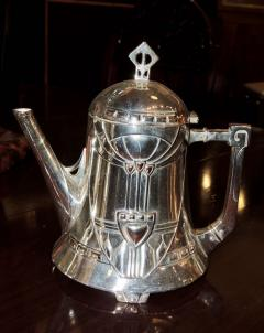 Silver Tea Coffee Set WMF Art Nouveau with Tray - 1342778