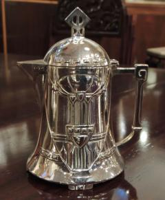 Silver Tea Coffee Set WMF Art Nouveau with Tray - 1342779