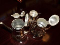 Silver Tea Coffee Set WMF Art Nouveau with Tray - 1342783