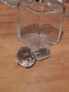 Silver and Glass Swingout Tantalus - 1418366