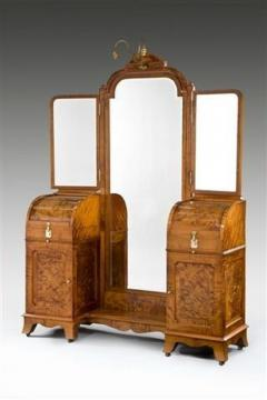 Silver fitted dressing table - 803781