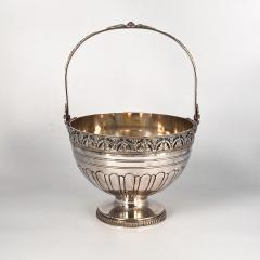 Silver on Copper Basket England Circa Late 19th Century - 1703525