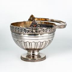 Silver on Copper Basket England Circa Late 19th Century - 1703528