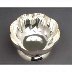 Silvered Bowl by Orfevrerie Gallia France 1930s - 1083732