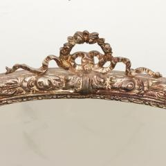 Silvered bronze and mirrored antique French dressing table - 2057846