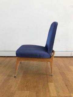 Silvio Cavatorta 1950s Pair of Side Chairs by Silvio Cavatorta - 353155