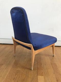 Silvio Cavatorta 1950s Pair of Side Chairs by Silvio Cavatorta - 353160