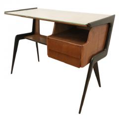 Silvio Cavatorta Italian Mid Century Desk in the Manner of Silvio Cavatorta - 880789