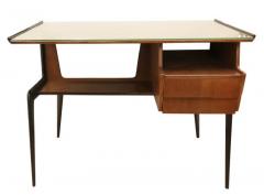 Silvio Cavatorta Italian Mid Century Desk in the Manner of Silvio Cavatorta - 880790