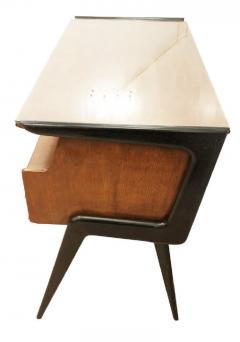 Silvio Cavatorta Italian Mid Century Desk in the Manner of Silvio Cavatorta - 880795