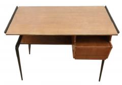 Silvio Cavatorta Italian Mid Century Desk in the Manner of Silvio Cavatorta - 880796