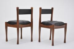 Silvio Coppola Set of six Italian Dining Chairs by Silvio Coppola for Bernini - 893351