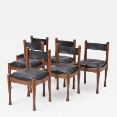 Silvio Coppola Set of six Italian Dining Chairs by Silvio Coppola for Bernini - 894607