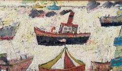 Simeon Stafford Fun Fair On The Harbour Wall by Simeon Stafford - 2030442