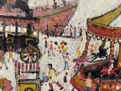 Simeon Stafford Fun Fair On The Harbour Wall by Simeon Stafford - 2030449