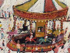 Simeon Stafford Fun Fair On The Harbour Wall by Simeon Stafford - 2030458
