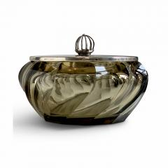 Simon Gate Exquisite Tinted Crystal Art Candy Dish in the Style of Simon Gate - 1482700