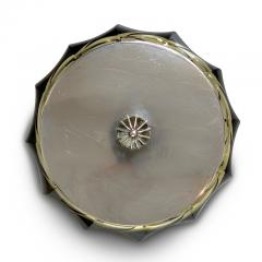 Simon Gate Exquisite Tinted Crystal Art Candy Dish in the Style of Simon Gate - 1482702
