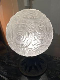 Simonet Freres Simonet Freres French Glass Table Lamp or Ceiling Light - 1601066
