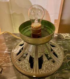 Simonet Freres Simonet Freres French Glass Table Lamp or Ceiling Light - 1601070