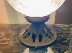 Simonet Freres Simonet Freres French Glass Table Lamp or Ceiling Light - 1601073