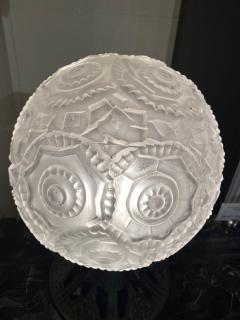 Simonet Freres Simonet Freres French Glass Table Lamp or Ceiling Light - 1601074