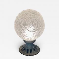Simonet Freres Simonet Freres French Glass Table Lamp or Ceiling Light - 1601778