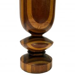 Single Italian Marquetry Table Lamp - 1169584