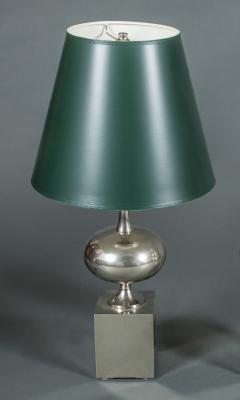 Single Philippe Barbier Nickel Lamp - 338897
