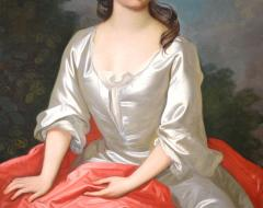 Sir Godfrey Kneller Portrait of Isabella Marshall Very Large 18th Century Georgian Oil Painting - 2053667