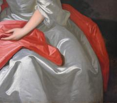 Sir Godfrey Kneller Portrait of Isabella Marshall Very Large 18th Century Georgian Oil Painting - 2053672