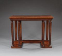 Sir John Soane A Pair of Neoclassical Mahogany Side Tables In The Manner Soane - 1131970