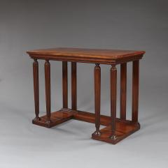 Sir John Soane A Pair of Neoclassical Mahogany Side Tables In The Manner Soane - 1131972