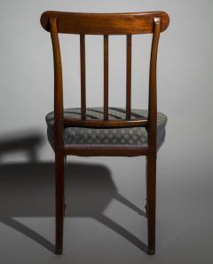 Sir John Soane Set of Six 19th Century English Georgian Mahogany Dining Chairs - 1010602