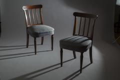 Sir John Soane Set of Six 19th Century English Georgian Mahogany Dining Chairs - 1010603