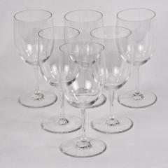 Six Baccarat Perfection White Wine Water Glasses - 1159249