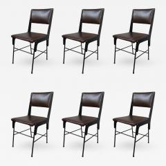 Six Chairs Italy 1950 - 455580