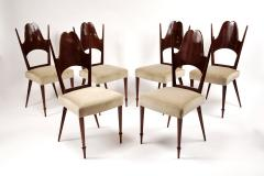 Six Dining Chairs Italy 1950s - 169262
