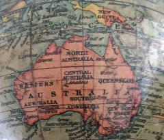 Six Inch Terrestrial Geographia Desk Globe - 867311