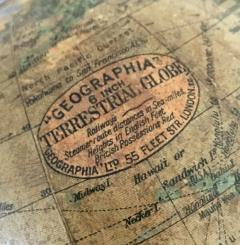Six Inch Terrestrial Geographia Desk Globe - 867312