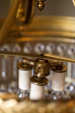 Six Light Louis XVI Style Chandelier - 1064164