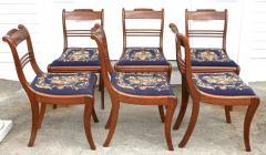 Six Philadelphia Klismos Dining Chairs - 1465475