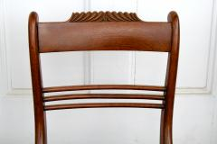 Six Philadelphia Klismos Dining Chairs - 1465477