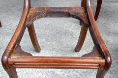 Six Philadelphia Klismos Dining Chairs - 1465484