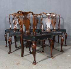 Six chairs in Rococo style 1st half 1900s 6  - 2001891
