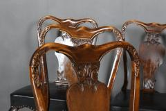 Six chairs in Rococo style 1st half 1900s 6  - 2001894