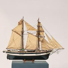 Skonnert Danish model ship - 918357